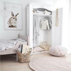 Nordic inspired kids bedroom