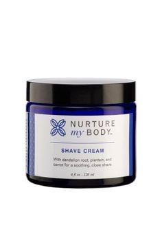 Nurture My Body - Organic Shave Cream - 4oz - http://www.go-nayked.com/shop/nurture-my-body-organic-shave-cream/