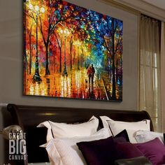 Shop big wall art at Great BIG Canvas. Turn your photos to art, browse classic art, build a custom bus roll, or discover emerging artists. Colorful Art, Big Wall Art, Big Canvas Art, Abstract Wall Art, Contemporary Landscapes Art, Fantasy Wall Art, Colorful Abstract Art, Canvas Painting, Modern Art Abstract