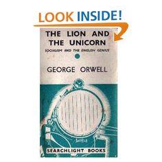 Amazon.com: Lion and the Unicorn (9780404146917): George Orwell: Books