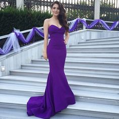 New Sexy Purple Mermaid Prom Dresses Sweetheart Evening Dresses Mermaid Sweetheart Sleeveless Custom Made Party Gowns Evening Gowns Lace-up Back Satin Evening Dresses Black Homecoming Dress Formal Party Dance Dresses Vestido De Festa Blue Mermaid Prom Dress, Royal Blue Prom Dresses, Sweetheart Prom Dress, Prom Dresses 2016, Mermaid Evening Dresses, Cheap Prom Dresses, Formal Evening Dresses, Sexy Dresses, Mermaid Sweetheart