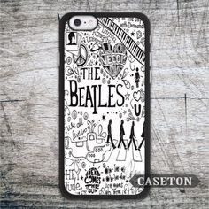 The Beatles Lyric Quote Case For iPhone 7 6 6s Plus 5 5s SE 5c 4 4s and For iPod 5 Lovely Black White Phone Cover Wholesale //Price: $US $2.99 & FREE Shipping //     #samsung