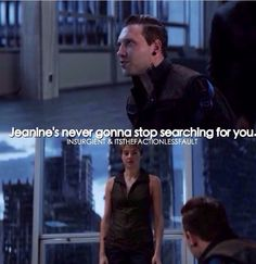Jeanine is not going to stop looking for her Divergent Theo James, Divergent Four, Tris And Four, Divergent Fandom, Divergent Trilogy, Divergent Insurgent Allegiant, Tfios, Jai Courtney, Veronica Roth
