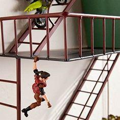 Wall Shelf Decor Display Storage Shelves Fire Escape Shelving Iron Home Design  #SouthernEnterprises #BaroqueRococoStyle
