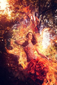 Photo *The girl on fire* by Laura Helena Rubahn on 500px