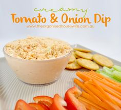 Come late afternoon I feel really peckish, 18 months ago I would havegone for a sugar hit, however now I much prefer a little savoury snack and I love having some dip in the fridge for just this reason. Plus it is also a great after school snack for the kids. This Tomato and Onion dip is creamy…