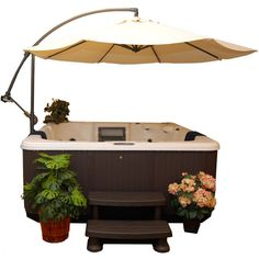 Putting a jacuzzi outdoors and discovering a great view will assist you unwind and develop an inner peace which is the most crucial for you. Jacuzzi Outdoor, Outdoor Spa, Outdoor Living, Hot Tub Accessories, Hot Tub Time Machine, Hot Tub Backyard, Diy Garden, Gazebo, Hot Tubs