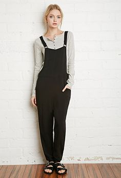 Buttoned-Side Jumpsuit   Forever 21 - 2000131350