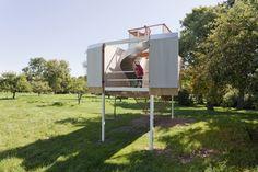 Garrison Treehouse by Sharon Davis Design © Elizabeth Felicella / Domek na drzewie