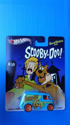 2013 Hot Wheels Scooby-Doo! Quick D-Livery Real Riders Hot !!!