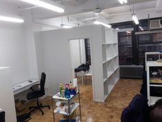Temporary Wall & Bookcase Wall Installation Gallery