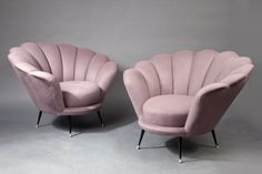 Pair of Bergeres - Italy, 1950s