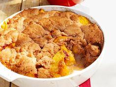 Get Bourbon Peach Cobbler Recipe from Food Network