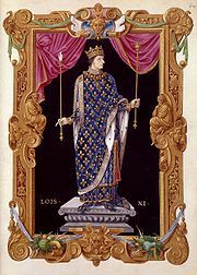 Louis XI (1423 - 1483). Son of Charles VII and Marie of Anjou. He married twice and had three children.