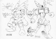 Rapidmon Gold  Katsuyoshi Nakatsuru's (中鶴 勝祥) character designs from Digimon Adventure (I believe) & the 1st Digimon 02 movie.