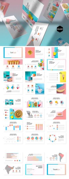 Free PowerPoint templates collection no. Ppt Design, Ppt Slide Design, Powerpoint Design Templates, Creative Powerpoint, Brochure Design, Flyer Template, Graphic Design, Presentation Layout, Presentation Slides