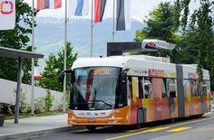 Un autobús eléctrico que se carga en 15 segundos _____________________________      An electrical bus which is loaded in 15 seconds