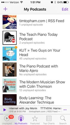 Podcasts and Audiobooks for Music Teachers #music #violin