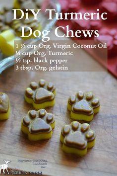 DIY Turmeric Dog Chews