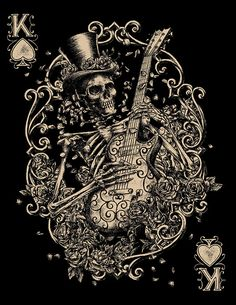 Skeletal Rocker.Lucky Brand by Ben Kwok.