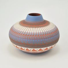 Navajo Etched Pottery by Renalda Largo