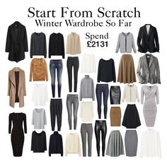 """""""Start From Scratch - Steps 1 - 16"""" by charlotte-mcfarlane ❤ liked on Polyvore featuring H&M, Uniqlo, Hobbs, Oasis and Laura Ashley"""