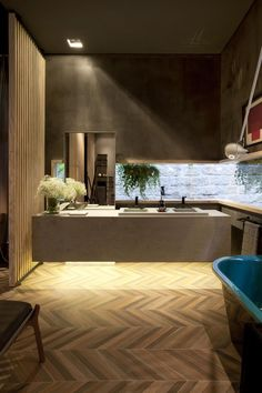 Banheiro com duas Pias de Juliana Pippi - 71136 no Viva Decora
