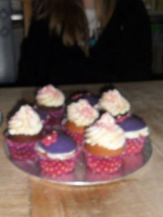 cupcakes, jammer dat de foto zo onduidelijk is