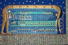 Nut, the sky goddess of ancient Egypt