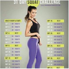 Ok, I must give my 2 cents on these ridiculous squat challenges lol unless you're a conditioned #athlete I really don't think you should attempt doing these many squats in one sitting especially in week 3 and 4. If anyone really understand how we build #muscle n #burnfat, whether it's the glutes biceps calves obliques etc, what matters most is the frequency of the repetitions in between sets not so much the amount. This #squatchallenge is ridiculous and wishful thinking lol plus #squats are…