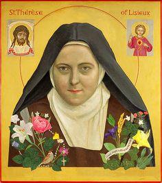October 1: Saint Thérèse of Lisieux