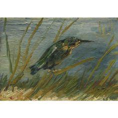 Ijsvogel aan de waterkant - Vincent van Gogh - Woonaccessoires - WinjeWanje Interieurs