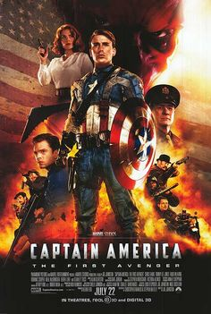CAPTAIN AMERICA:   The best of the Marvel movies for me