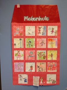 Pietenhuis tekenles Diy For Kids, Cool Kids, Crafts For Kids, Creative Teaching, School Teacher, Diy And Crafts, Kindergarten, Projects To Try, December