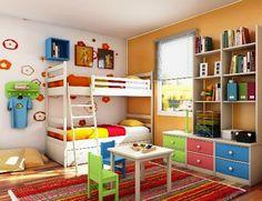 19 amazing unisex kids bedding image idea for Childrens unisex bedroom ideas