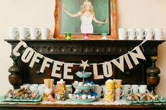 """Have a coffee bar for the brunch, shower, etc. Send everyone home with gift wrapped """"special blend"""" coffees from the bride and groom."""