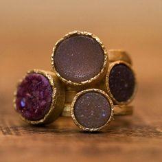 #wimmeeussen #gold #agate #design #jewelry #rings #antwerpen #antwerp