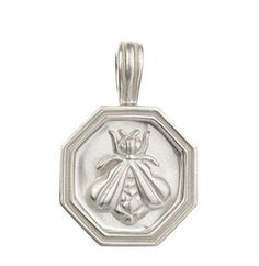 Slane Jewelry Sterling Silver Medium Bee Pendant