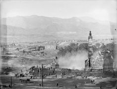 Antlers Hotel Fire - 1898
