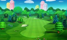 Golf Course art 7 from the official artwork set for #MarioGolf World Tour on the #Nintendo3DS. More info on #Mario 3DS games @ http://www.superluigibros.com/3ds-games