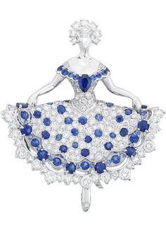 Van Cleef & Arpels - Ballerina Clip