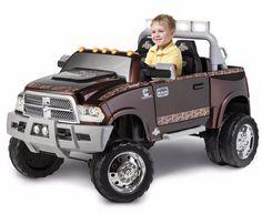 Kid Trax Dodge Ram 3500 Dually Longhorn Edition Battery-Powered Ride-On, Mossy Oak Ram 3500 Dually, Dodge Ram 3500, Kids Ride On Toys, Kids Toys, Kids Power Wheels, Nissan, Dodge Rams, Mossy Oak, Toy Trucks