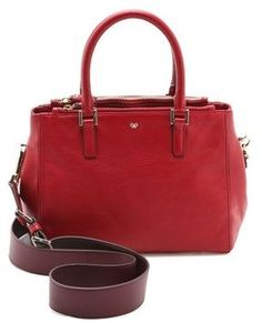 Anya hindmarch Ebury Leather Bag on shopstyle.com
