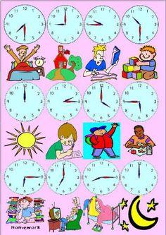 A que hora...