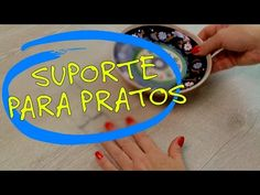 Suporte para Pendurar Pratos, como fazer - YouTube Fish Patterns, Handicraft, At Home Workouts, Jewelry Crafts, Decoupage, Videos, Diy, Samara, Youtube