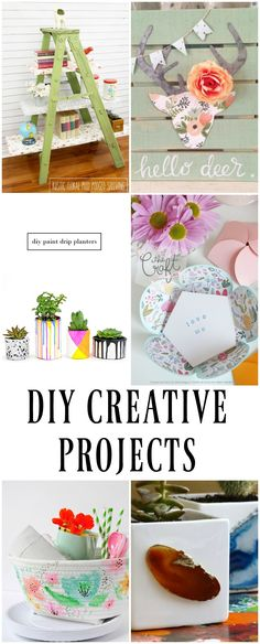 Cute & Creative DIY Projects {Work it Wednesday