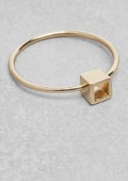 & Other Stories | Cube Ring