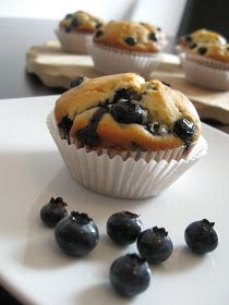 Blaubeermuffins histaminarm | histaminarme Rezepte | Kuchen Rezepte | | mitohnekochen.com