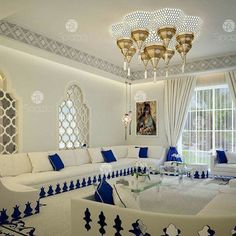 Who Else Wants to Learn About Grateful Stylish Layout Classy Living Room? Room Interior Design, Luxury Homes Interior, Living Room Interior, Interior Decorating, Moroccan Home Decor, Moroccan Interiors, Moroccan Design, Moroccan Style, Moroccan Bedroom