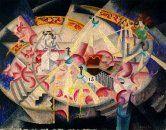 Gino Severini, pintor italiano. Nació en Cortona el 7 de abril de 1883